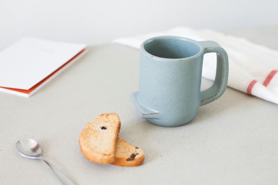 NUC. Unikalus, keramikinis puodelis