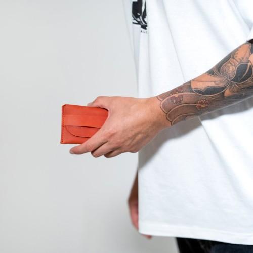 ELFBREAD. Raudona piniginė - kortelių dėklas 2.1