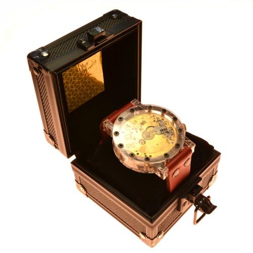 Natūralios odos laikrodis. V. Veršickas